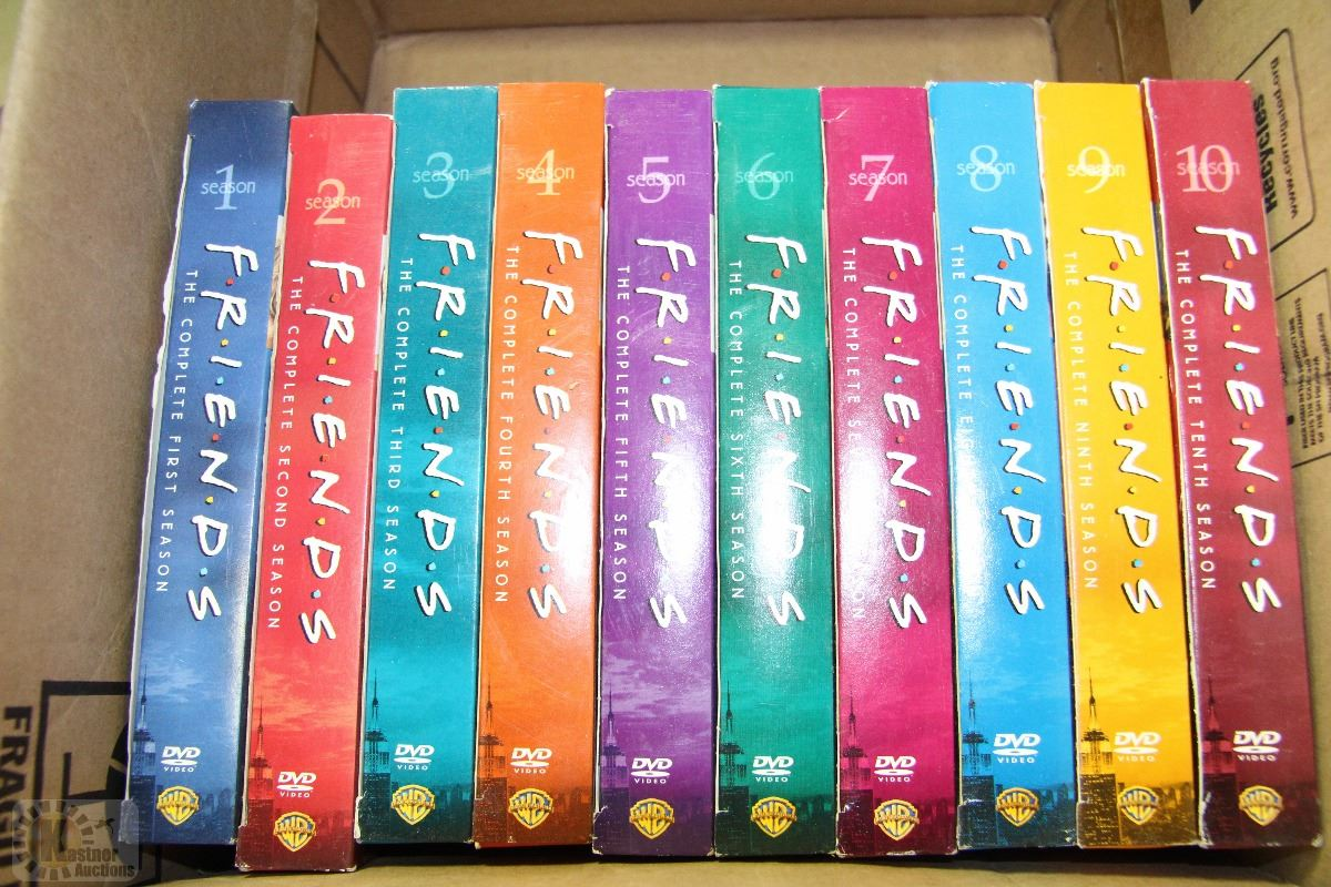 FRIENDS SEASONS 1-10 DVD SETS