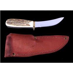 Custom Skinner Knife Gerome Weinand Lolo Montana