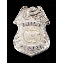 Early Vintage State of Idaho Reserve Police Badge