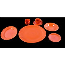 Antique Collection of Radioactive Red Fiestaware