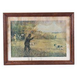 1909 Field & Stream Advertising Print