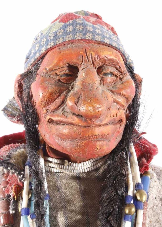 Dave Powell Original Blackfoot Indian Sculpture
