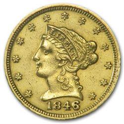 $ 2.5 Liberty Head Random Date Gold Coin