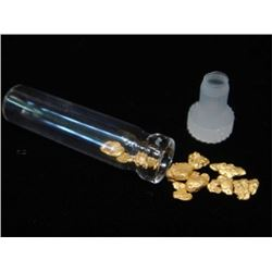 1 Gram Alluvial Gold Nuggets - Natural