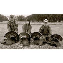 Blackbuck & Turkey Combo Hunt in San Angelo, Texas (3 days)