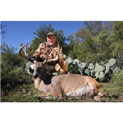 Whitetail hunt for one hunter in Corsicana, Texas (3 days)