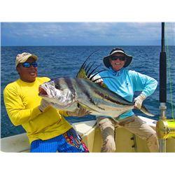 Deep sea fishing trip in Panama (3 day/4 night)