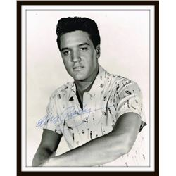 ELVIS PRESLEY SIGNED PHOTO.