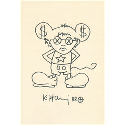 KEITH HARING: ANDY MOUSE.