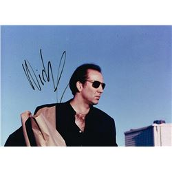 NICHOLAS CAGE SIGNED PHOTO.