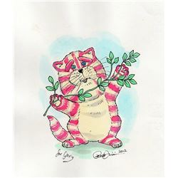 PETER FIRMIN ORIGINAL WATER COLOUR OF BAGPUSS.