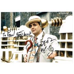 DOCTOR WHO SIGNED PHOTO.