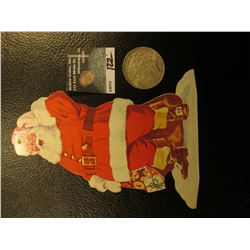 """""""Central National Bank and Trust Company Fifth and Locust Des Moines, Iowa…"""" Santa Claus Christmas O"""