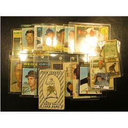 "1951 Deck of ""Big League Base Ball Card Game""; ""Chuck Bennis University of Illinois"" Football Player"