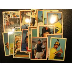 """1982 Topps """"Tony Perez"""" # 256 Card with his personal Autograph; & (17) other 30+ year old Famous Bas"""