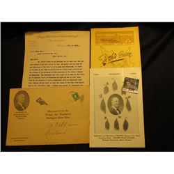 Nov. 6, 1899 Type Written and hand-signed letter on  Chicago, Rock Island, & Pacific Railway Co. Law