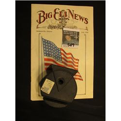"""Big Eli News Jacksonville, Illinois July, 1928"" Magazine and an original Rubber Guide for cables fr"