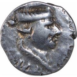 Silver Drachma Coin of Nahapana of Western Kshatrapas.