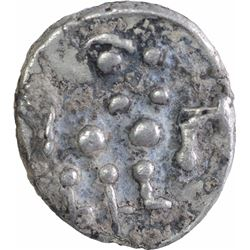 Silver Dramma Coin of Bhojadeva of Bhoja Dynasty.