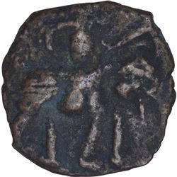 Rare Copper Coin of Post Kushan of North India.