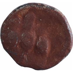 Lead Coin of Ramagupta of Gupta Dynasty of Garuda Type.