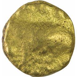 Gold Gadyana Coin of Chalukyas of Badami.