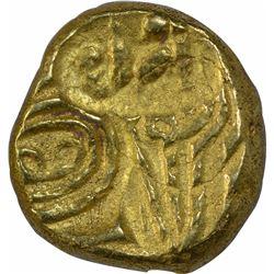 Gold Pagoda Coin of Bhujabala of Telugu Chodas of Nellore.