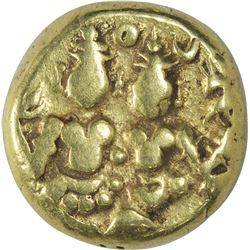 Gold Varaha Coin of Sadashivaraya of Vijayanagara Empire.