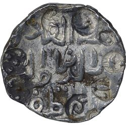 Silver One Tanka Coin of Ala Ud Din Hussain Shah of Dar Ud Darb Husainabad Mint of Bengal Sultanate.