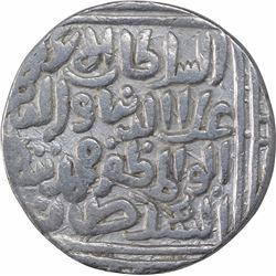 Silver One Tanka Coin of Ala Ud Din Muhammad Khilji of Delhi Sultanate.