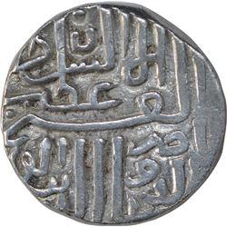 Silver Half Tanka Coin of Nasir Ud Din Mahmud Shah I of Shahr e Mukarram Muhammadabad Mint of Gujara