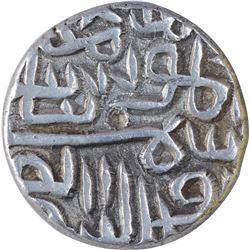 Silver One Tanka Coin of Shams ud Din Muzaffar Shah II of Gujarat Sultanate.
