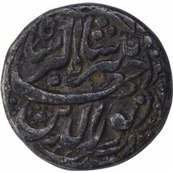 Silver One Rupee Coin of Jahangir of Delhi Mint of Bahman Month.