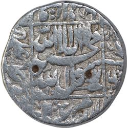 Silver One Rupee Coin of Shah Jahan of Akbarabad Mint.