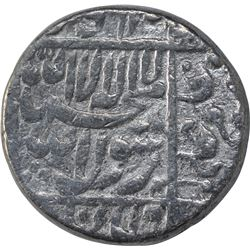 Silver One Rupee Coin of Shahjahan of Surat Mint.