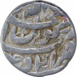 Silver One Rupee Coin of Shahjahan of Ujjain Mint.