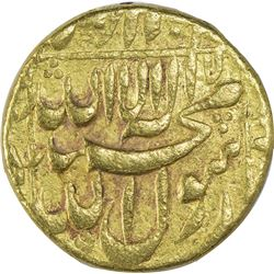 Gold Mohur Coin of Shahjahan.