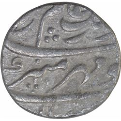 Silver One Rupee Coin of Aurangzeb Alamgir of Akbarnagar Mint.