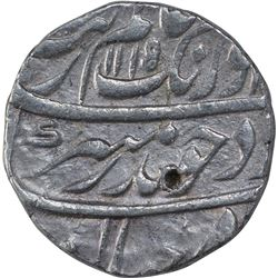 Silver One Rupee Coin of Aurangzeb Alamgir of Jahangirnagar mint.