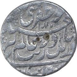 Silver One Rupee Coin of Aurangzeb Alamgir of Patna Mint.