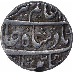 Silver One Rupee Coin of Alamgir II of Muhammadabad Banaras Mint.