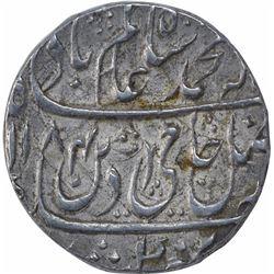 Silver One Rupee Coin Shah Alam II of Shahjahanabad Dar ul khilafa Mint.