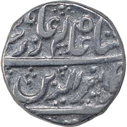 Silver One Rupee Coin of Bagalkot Mint of Maratha Confederacy.