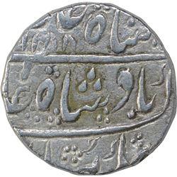 Silver One Rupee Coin of Maratha Kingdom of Ajmer Dar ul khair Mint.