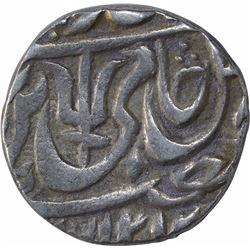 Silver One Rupee Coin of Kunch Hijri Mint of Maratha Confederacy.