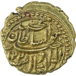 Gold Pagoda Coin of Tipu Sultan of Patan Mint of Mysore Kingdom.