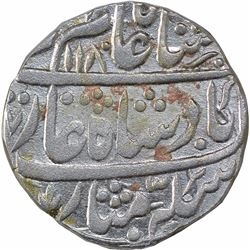 Silver One Rupee Coin of Murdabad Mint of Rohilkand.