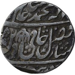 Silver One Rupee Coin of Qasbah Panipat Mint of Rohilkhand.