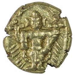 Gold Varaha Coin of Aravidu Dynasty of Vijaynagar Kingdom.