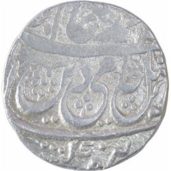Silver One Rupee Coin of Asafabad Mint of Awadh State.